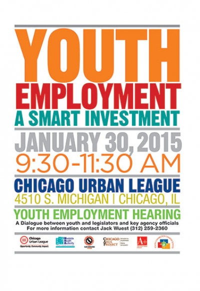 Youth Employment: A Smart Investment - Addressing Joblessness among Teens in Chicago