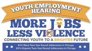 More Jobs Less Violence: Youth Employment Hearing 2017